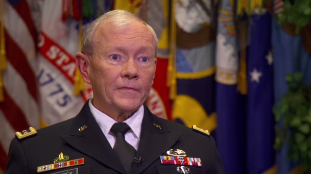 "U.S. Army Gen. Martin Dempsey said the United States faces ""a 10-year issue"" in Syria."