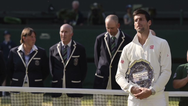 Murray wins Wimbledon men's singles