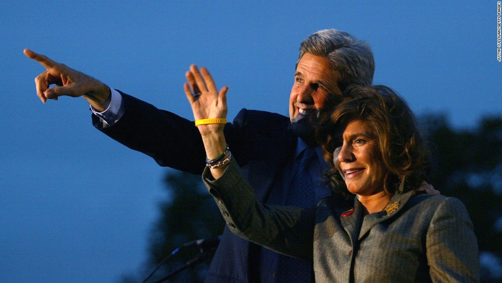 Heinz Kerry was thrown into the spotlight when her husband ran for the Democratic nomination during the 2004 presidential election.