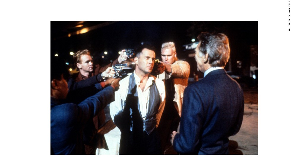 "<strong>""Hudson Hawk"" (1991):</strong> Another film done in by a bloated budget, poor marketing and backroom gossip (star Bruce Willis, center, was the subject of several rumors). The film by ""Heathers"" director Michael Lehmann was one of the biggest bombs of the 1990s. <a href=""http://johnryansullivan.wordpress.com/2012/01/02/see-it-again-hudson-hawk/ "" target=""_blank"">But more recent takes</a> say it makes a pretty decent screwball comedy."