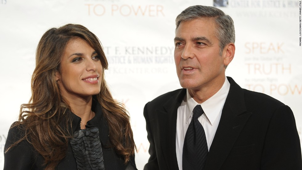 "<strong>Elisabetta Canalis:</strong> Clooney dated Italian actress and TV personality Elisabetta Canalis from 2009 to 2011 (we're sensing a pattern here). Their relationship was closely watched, and <a href=""http://www.cnn.com/2010/SHOWBIZ/celebrity.news.gossip/08/18/celeb.engagement.rumors.tf/index.html?iref=allsearch"" target=""_blank"">some thought Clooney had popped the question</a> in 2010 when Canalis was photographed with a bauble on her finger. But it was actually a napkin ring she'd placed there as a joke."