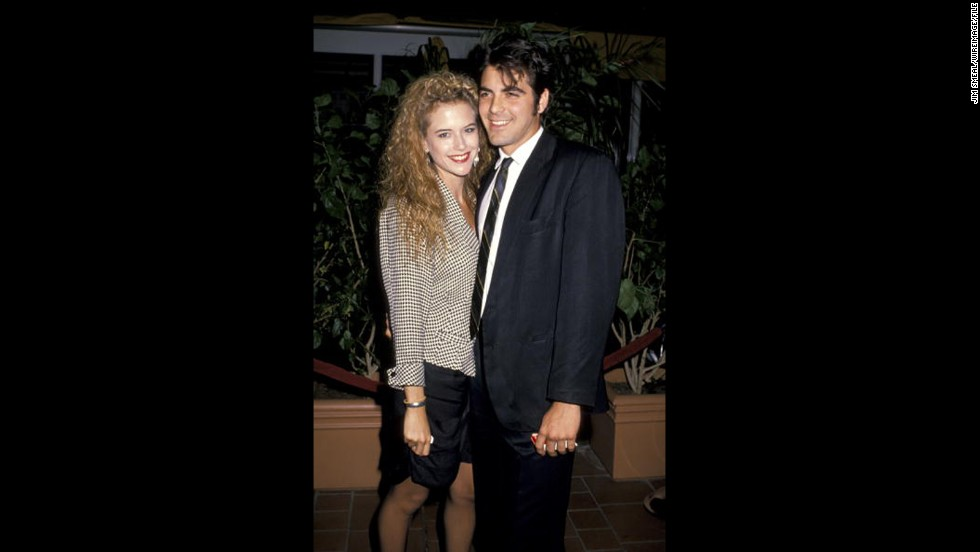 <strong>Kelly Preston</strong>: Before Kelly Preston wed John Travolta, she was attached to Clooney. The actress lived with the actor during their courtship, which began in 1987. Clooney gave Preston a pet pig as a gesture of love, which he ended up keeping after they broke up in 1989.