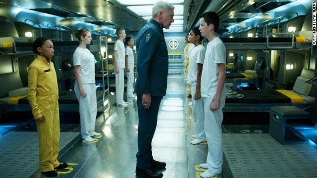 Harrison Ford talks 'Ender's Game'