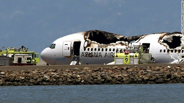 Pilots questioned in Asiana crash