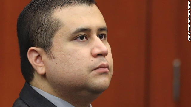 SANFORD, FL - JULY 10: Defendant George Zimmerman sits in Semimole circuit court during his murder trial July 10, 2013 in Sanford, Florida. Zimmerman has been charged with second-degree murder for the 2012 shooting death of Trayvon Martin. (Photo by Gary W. Green-Pool/Getty Images)