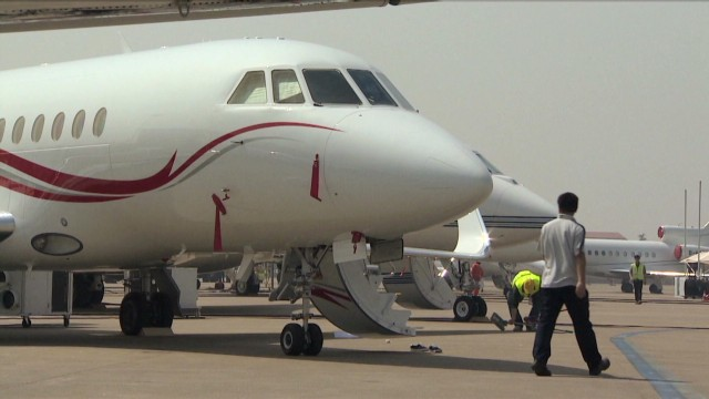 China warms up to luxury jets