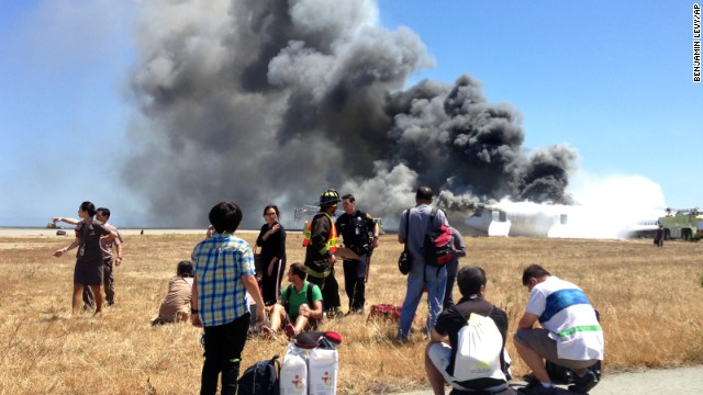 New video of Asiana crash