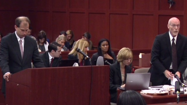 George Zimmerman on trial