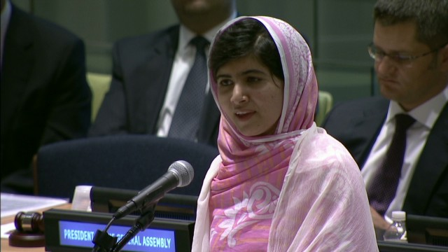 Malala asks women to fight for rights