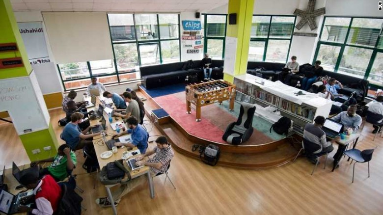 Nairobi's iHub, the co-working space where