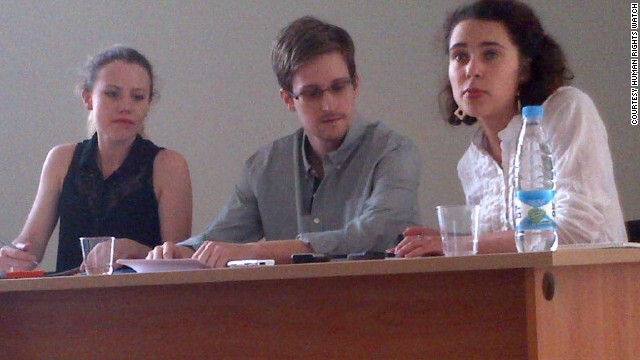 NSA leaker Snowden speaks from Russia