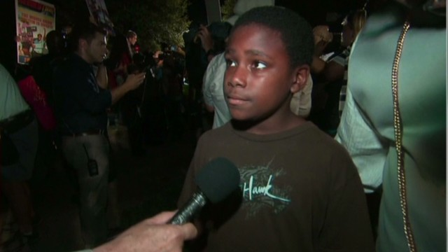 Father, son react to Zimmerman verdict