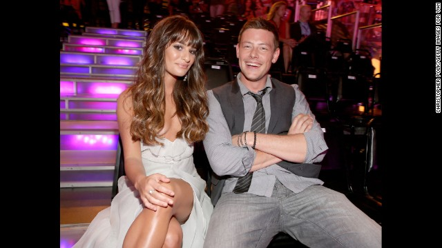 Lea Michele and Cory Monteith attend the 2012 Do Something Awards on August 19, 2012 in Santa Monica, California.