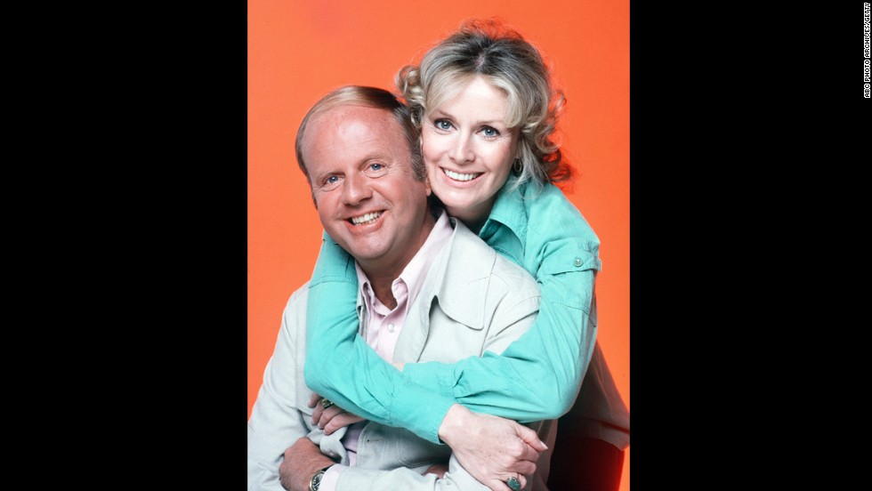 "Diana Hyland only appeared in four episodes as the mother on ""Eight is Enough"" before her death from cancer in 1977. Dick Van Patten played her TV husband, and his character became a widower who fell in love and remarried when a new actress was cast."
