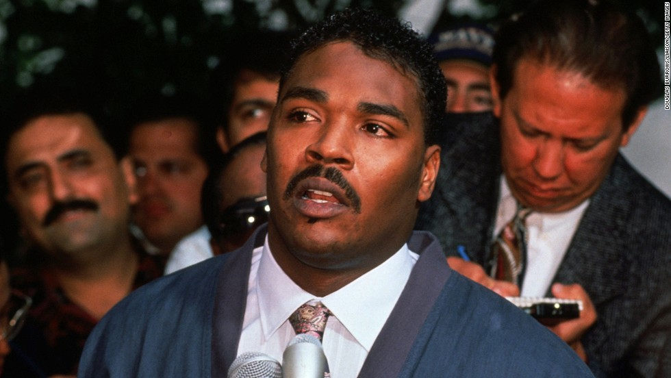 """Can we all get along?"" <a href=""http://www.cnn.com/2012/06/17/us/rodney-king-timeline/index.html"">Rodney King</a> asked that question in 1992 after white Los Angeles police officers -- Stacey Koon, Laurence Michael Powell, Timothy Wind, and Theodore Briseno, who were charged in King's 1991 videotaped beating -- were acquitted, sparking riots in L.A. and other U.S. cities. In 2012, authorities determined that King died in an accidental drowning at age 47."