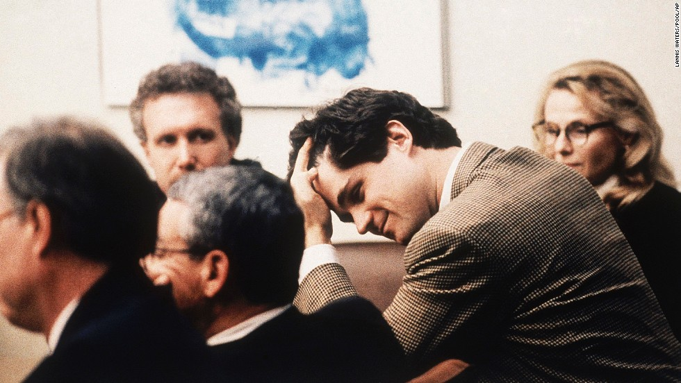"<a href=""http://transcripts.cnn.com/TRANSCRIPTS/0012/11/mn.07.html"">William Kennedy Smith</a> expresses relief after his 1991 acquittal on sexual assault and battery charges. A woman had accused Smith, a nephew of then-Sen. Edward Kennedy, of attacking her at the family's estate in Palm Beach, Florida."