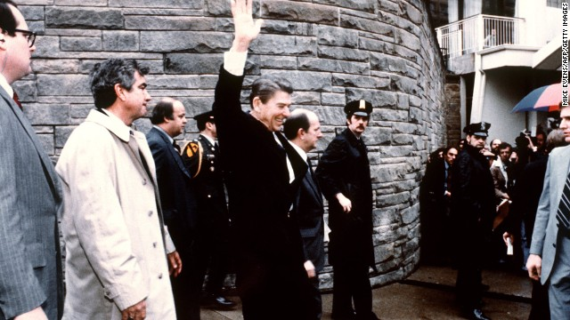 The attempted assassination of Reagan
