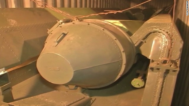 Weapons seized from North Korean ship
