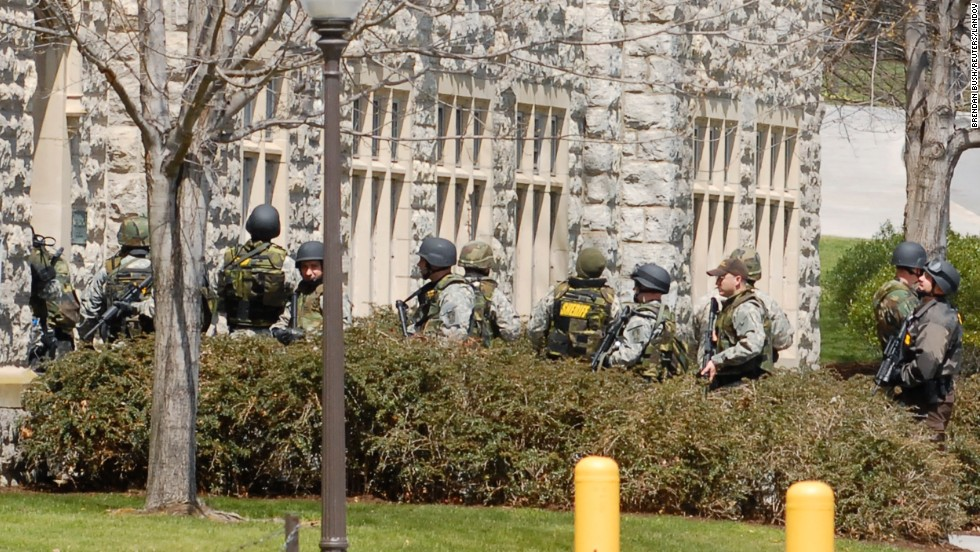 "<a href=""http://www.cnn.com/SPECIALS/2007/virginiatech.shootings/"" target=""_blank"">Virginia Tech</a> student Seung-Hui Cho went on a shooting spree on the school's campus in April 2007. Cho killed two people at the West Ambler Johnston dormitory and, after chaining the doors closed, killed another 30 at Norris Hall, home to the Engineering Science and Mechanics Department. He wounded an additional 17 people before killing himself."