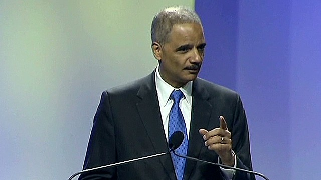 Holder: 'We must stand our ground'
