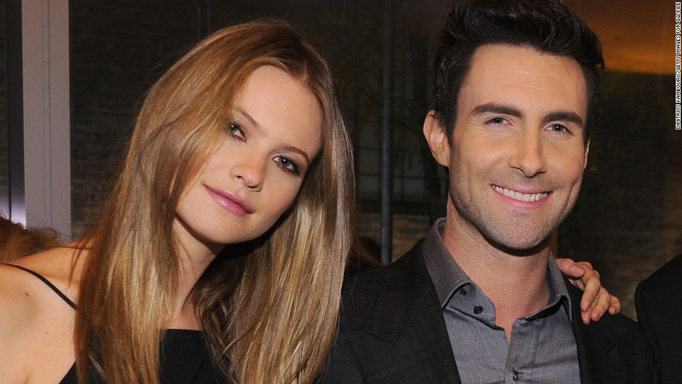 "Model Behati Prinsloo is now married to the ""Sexiest Man Alive,"" Adam Levine. Here's a look at the ""sexy"" singer through the years:"