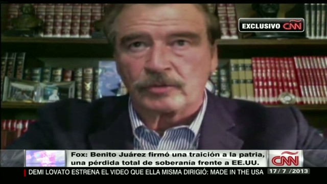 cnnee vicente fox interview 2 on drugs and chapo guzman _00020128.jpg