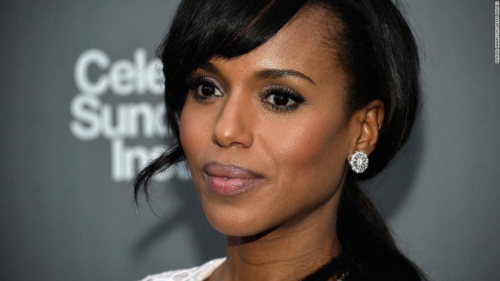 "Outstanding lead actress in a drama series: Kerry Washington, ""Scandal"""