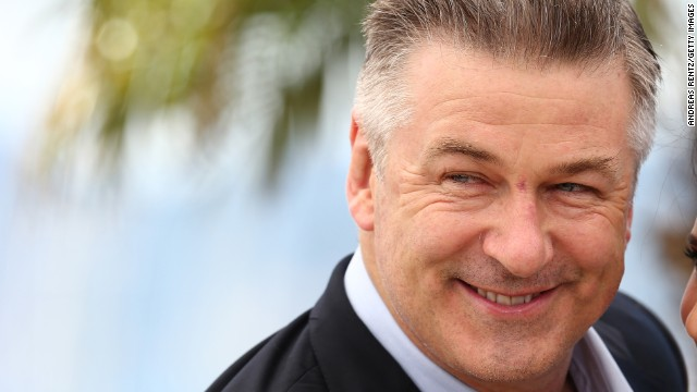 Alec Baldwin at The 66th Annual Cannes Film Festival  in May in Cannes, France.