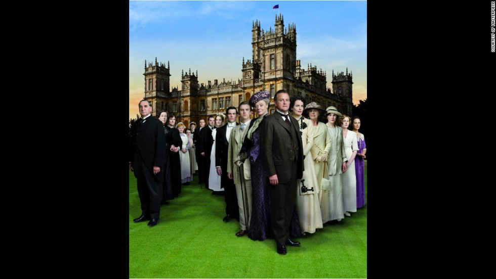 "Outstanding drama series: ""Downton Abbey"""