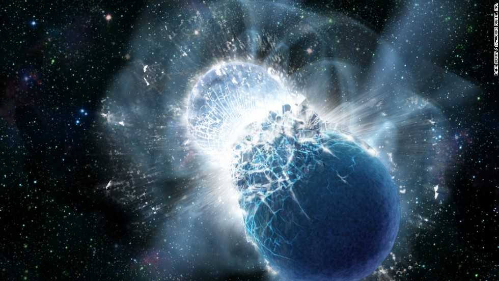 All the world's gold came from collisions of dead stars, scientists say