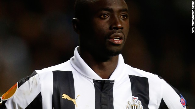 Papiss Cisse is refusing to wear Newcastle's shirt after the sponsor changed from Virgin Money to Wonga.