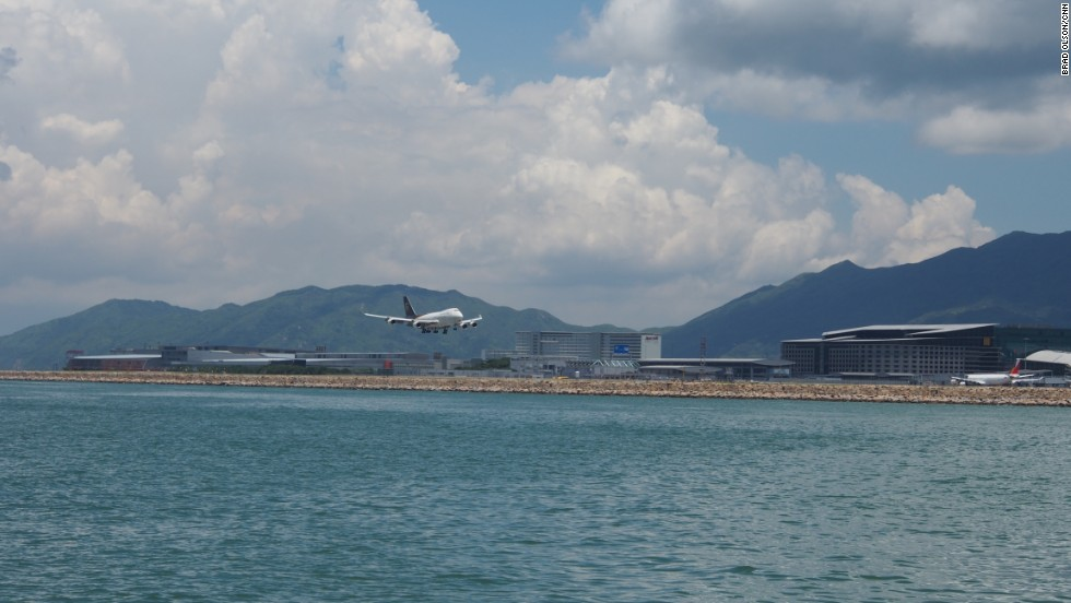 A proposed third runway and corresponding land reclamation at Hong Kong's airport is expected to have a serious impact on their population.