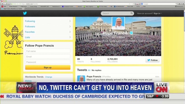 newsroom costello tweeting pope redemption_00002012.jpg