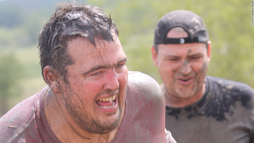 McDonald weighed 350-plus pounds when he competed in his first Jailbreak race during the fall of 2011.