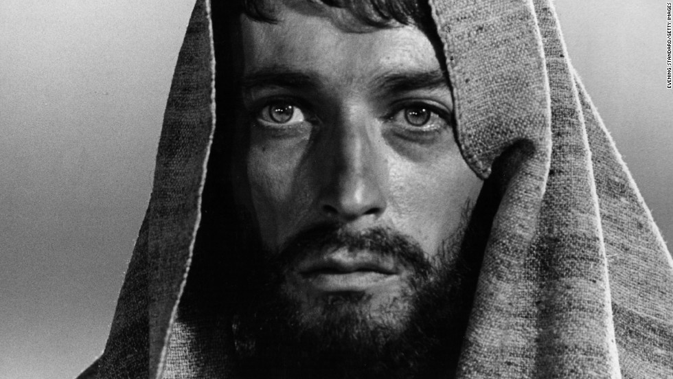 "British actor Robert Powell, shown here in Franco Zeffirelli's 1977 TV mini-series, ""Jesus of Nazareth,"" is one of many actors who've tried to convey the complex emotions of Jesus."