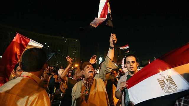 Protests, tensions fill Cairo's streets