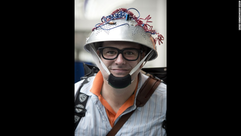 "DanWill McCann chose to come to the convention dressed as a character from ""Ghostbusters"" on July 19."