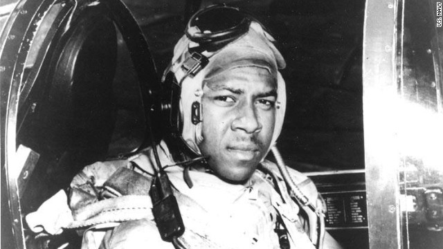 Jesse Brown, the first African-American Navy aviator, crash landed in what is now North Korea on December 4, 1950.