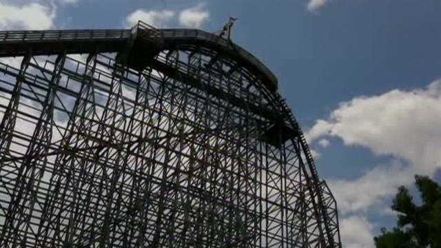 Who was victim killed on roller coaster?