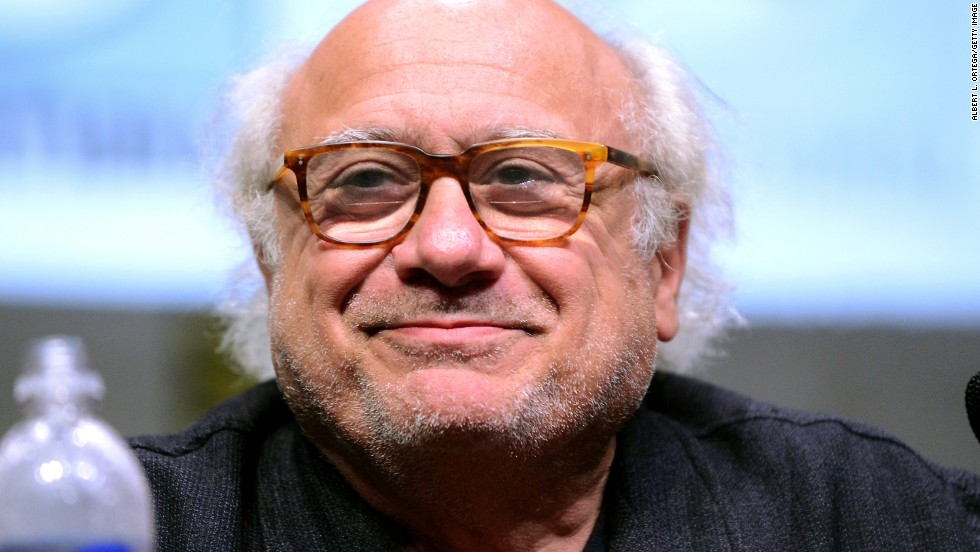"Producer and actor Danny DeVito speaks onstage at the ""It's Always Sunny in Philadelphia"" Q&A on July 21."