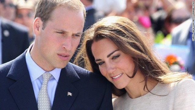 Prince William, Duke of Cambridge and Catherine, Duchess of Cambridge look on during an an official welcome ceremony at the Somba K'e Civic Plaza on July 5, 2011 in Yellowknife, Canada.