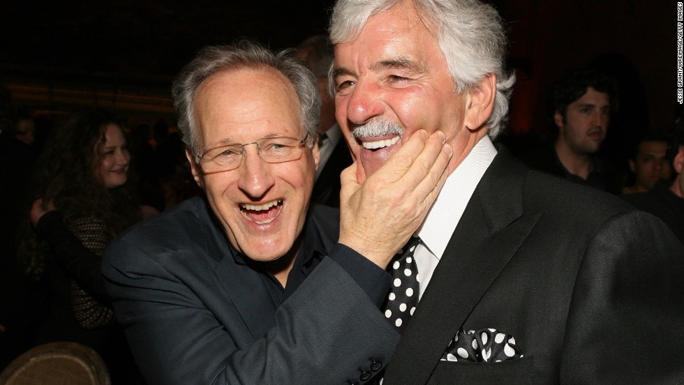 "Producer and director Michael Mann, left, and Farina attend HBO's ""Luck"" Los Angeles premiere after-party on January 25, 2012, in Hollywood, California."
