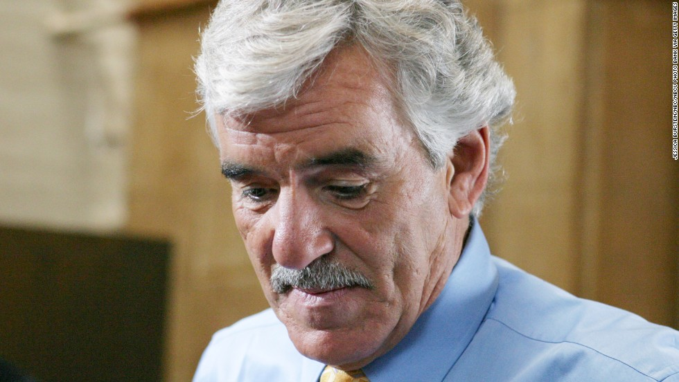 "Actor <a href=""www.cnn.com/2013/07/22/showbiz/dennis-farina-obituary/index.html"">Dennis Farina</a>, a Chicago ex-cop whose tough-as-nails persona enlivened roles on either side of the law, died Monday, July 22. He was 69. Above, Farina shoots a scene as Detective Joe Fontana in ""Law & Order"" in 2004."