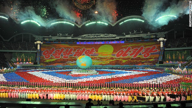 North Korea's Mass Games in 2013.