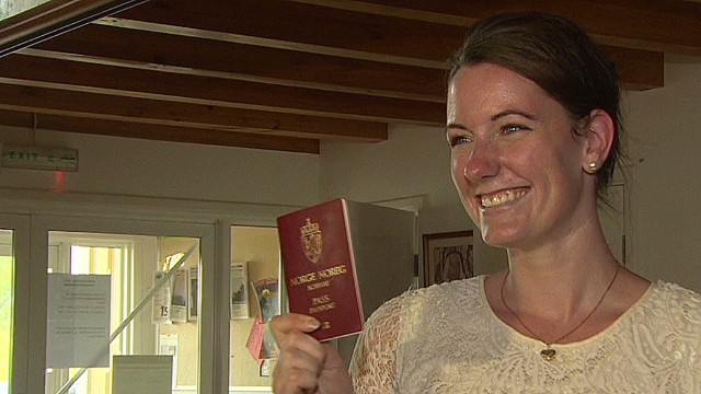 Norwegian woman pardoned, released