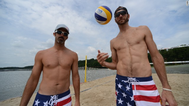 The perfect beach volleyball marriage