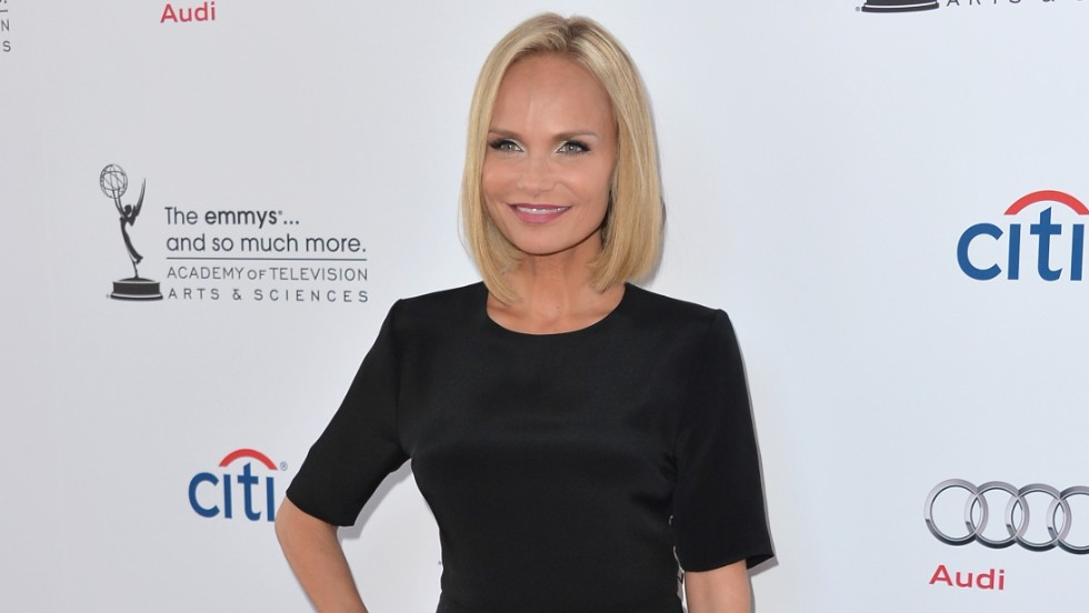 Kristin Chenoweth arrives to The Academy Of Television Arts & Sciences' 'An Evening with Carol Burnett' in North Hollywood, California.