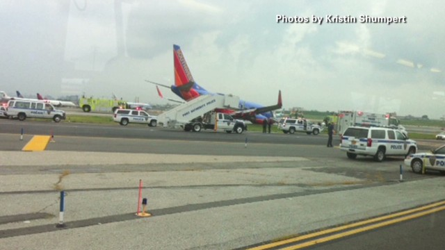 Passenger relives Southwest crash
