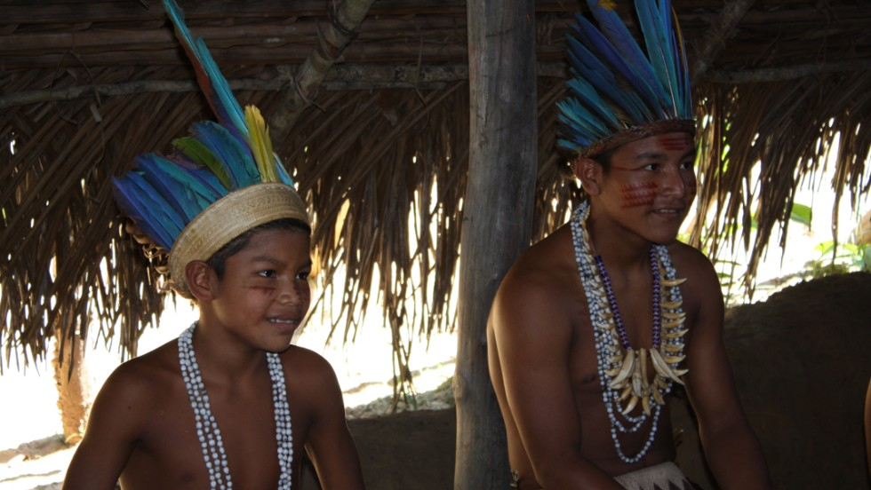 Indigenous tribes still dot the Amazon rainforest surrounding the city of Manaus.