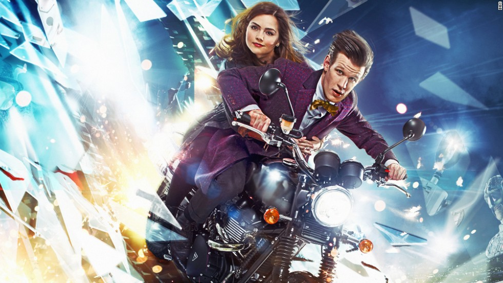 Clara (Jenna Coleman) and the current Doctor (Matt Smith) in season 33 of the popular show.